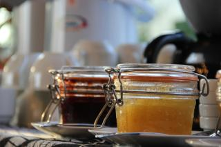 Home made pineapple jam