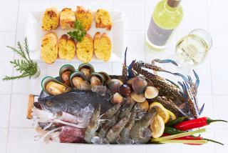อาหาร แลดูปราณ ปราณบุรี รีสอร์ท